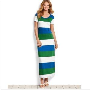Tommy Bahama Striped Maxi Dress 👗 👗